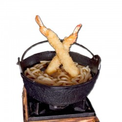 Sopa Udon Amb Tempura Gambes