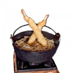 Sopa Udon Con Tempura Gambas