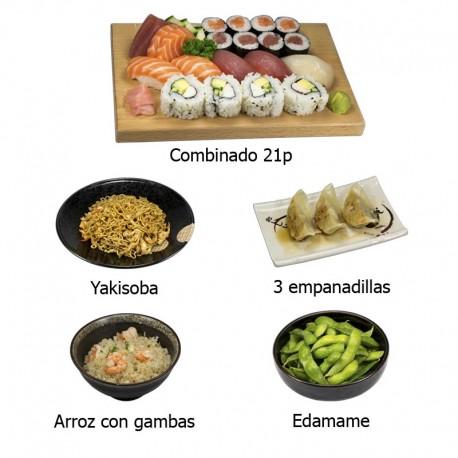 Daily menu 1